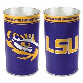 "LSU Tigers 15"" Waste Basket"
