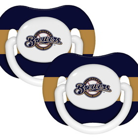 Milwaukee Brewers Pacifier - 2 Pack