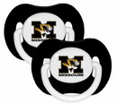 Missouri Tigers Pacifier - 2 Pack