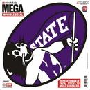 Kansas State Wildcats Decal 12x12 Mega