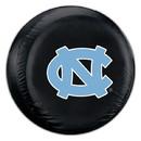 North Carolina Tar Heels Black Tire Cover - Standard Size - New Logo