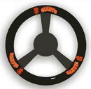 San Francisco Giants Steering Wheel Cover - Leather
