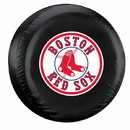 Boston Red Sox Black Tire Cover - Standard Size