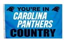 Carolina Panthers Flag 3x5 Country