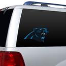 Carolina Panthers Die-Cut Window Film - Large - New UPC