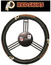 Washington Redskins Steering Wheel Cover - Leather