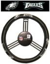 Philadelphia Eagles Steering Wheel Cover - Leather