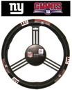 New York Giants Steering Wheel Cover - Leather