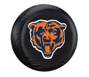 Chicago Bears Black Tire Cover - Size Large