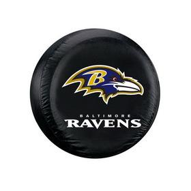 Baltimore Ravens Black Tire Cover - Standard Size