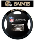 New Orleans Saints Steering Wheel Cover - Mesh