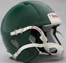 Riddell Speed Blank Mini Football Helmet Shell - Forest Green