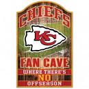 Kansas City Chiefs Wood Sign - 11