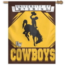 Wyoming Cowboys Banner 27x37