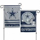 Dallas Cowboys Garden Flag 11x15