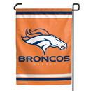 Denver Broncos Garden Flag 11x15