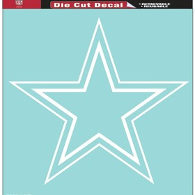 "Dallas Cowboys 18""x18"" Die Cut Decal"