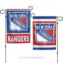 New York Rangers Garden Flag 11x15