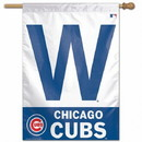 Chicago Cubs Banner 27x37 W