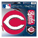 Cincinnati Reds Magnets 11x11 Prismatic Sheet
