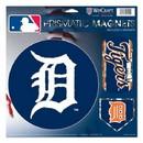 Detroit Tigers Magnets 11x11 Prismatic Sheet