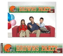 Cleveland Browns Banner Party