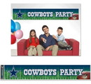 Dallas Cowboys Banner Party
