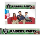 Oakland Raiders Banner Party