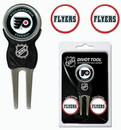 Philadelphia Flyers Golf Divot Tool with 3 Markers
