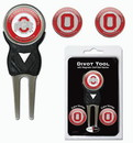 Ohio State Buckeyes Golf Divot Tool with 3 Markers