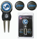 Detroit Lions Golf Divot Tool with 3 Markers