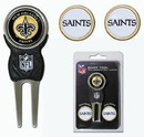 New Orleans Saints Golf Divot Tool with 3 Markers