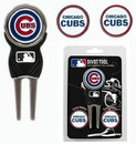 Chicago Cubs Golf Divot Tool with 3 Markers