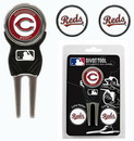 Cincinnati Reds Golf Divot Tool with 3 Markers
