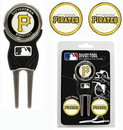 Pittsburgh Pirates Golf Divot Tool with 3 Markers