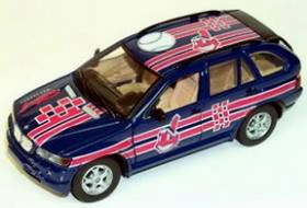 Cleveland Indians Fleer Collectibles 2002 BMW X-5