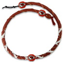 Kansas City Chiefs Spiral Football Necklace
