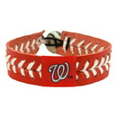 Washington Nationals Baseball Bracelet - Team Color Style
