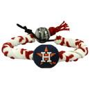 Houston Astros Classic Frozen Rope Baseball Bracelet