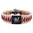 Milwaukee Brewers Baseball Bracelet - Classic Style