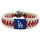 Los Angeles Dodgers Baseball Bracelet - Classic Style