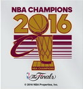 Cleveland Cavaliers Decal Small Static 2016 Champions