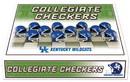 Kentucky Wildcats Checker Set