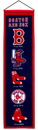 Boston Red Sox Banner 8x32 Wool Heritage
