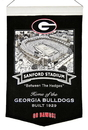 Georgia Bulldogs Banner Wool Stadium Sanford Stadium
