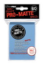 Deck Protector, Pro Matte - Small Size - Light Blue (10 pks of 60 per disp)