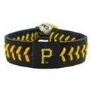 Pittsburgh Pirates Baseball Bracelet - Team Color Style