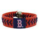 Boston Red Sox Baseball Bracelet - Team Color Style