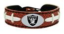 Oakland Raiders Classic Football Bracelet