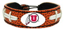 Utah Utes Classic Football Bracelet